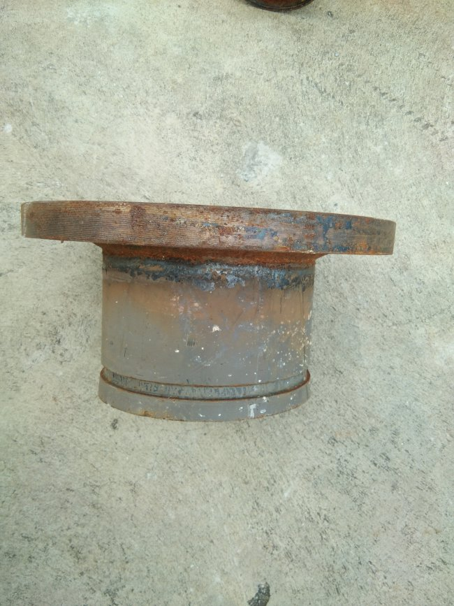 "Short piece pipe 6 "" & flange"